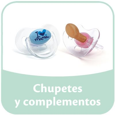 chupetes y complementos